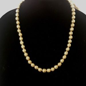 Jewelry - Vintage Sterling Taxco Beaded Necklace